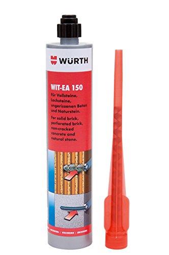 2k Komponenten Kleber Würth Dübelkleber Injektionsmörtel Ankerkleber - 150ml XXL