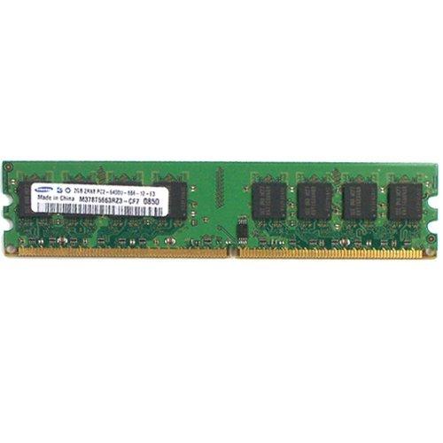 Samsung m378t5663rz3-cf72GB 2Rx81.8V 240-pin DIMM PC2-6400u-666-12-e3800MHz DDR2memoria PC desktop