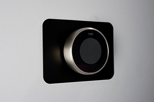 Nest Thermostat back plate (Black)