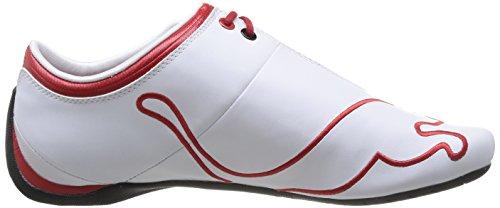 Puma Ferrari Future Cat M1 Tifo, Baskets mode homme Blanc (White)