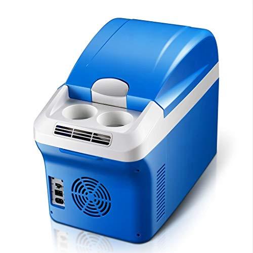 WYJW Auto refrig12V DC 220V AC Kühlung Heizung Kühlung Autokühlschrank Mini-Kühlschrank Kleinstkühlschrank für Privathaushalte Auto-Kühlschrank mit doppeltem Verwendungszweck Außenmaße: 35,7 * 46