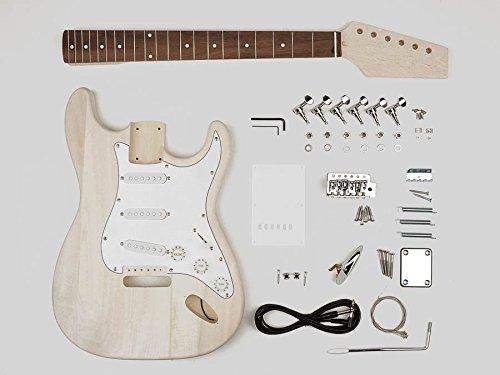 Stratocaster built your own hardware guitar builder kit new KIT-ST-10