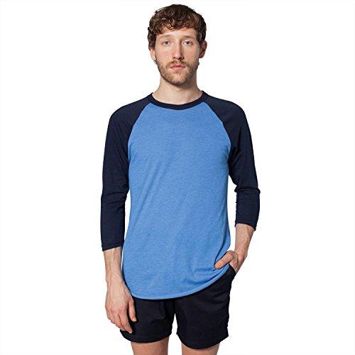american-apparel-unisex-poli-algodn-manga-ragln-3-4-bb453