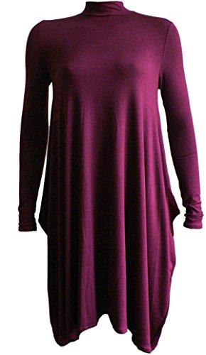 FashionClothing -  Vestito  - Donna Vino 54-56