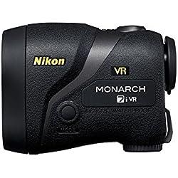 Nikon MONARCH 7i VR Negro 6x 7.5-915m rangefinders - Metro (Negro, RoHS, WEEE, IEC60825-1, FDA/21 CFR 1040.10, FCC 15 B B, EU:EMC, AS/NZS, VCCI B, CU TR 020, Litio, CR2, 3 V, 48 x 99 x 75 mm)