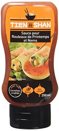 Tien Shan Sauce Rouleaux de Printemps - Lot de 4