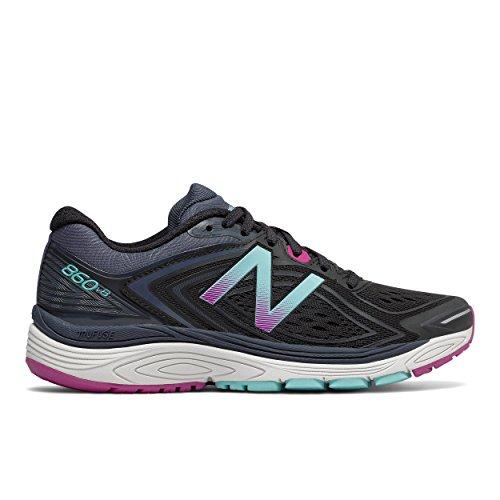 New Balance 860v8 Chaussures de Course à Pied Pour Femme Noir