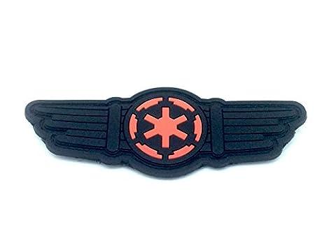 Star Wars Tie Fighter Pilot Flügel PVC Klett Emblem Abzeichen