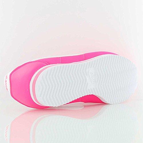 Nike Mädchen Cortez Nylon (Ps) Sneaker Rosa (Rosa (Hyper Pink / White))