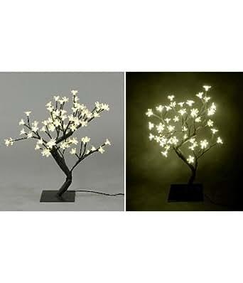 LED Baum mit 48 Lampen , H 45 cm, warmweiß
