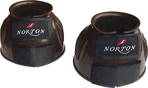 "NORTON \""Crazy\"" Springglocken Hufglocken Farbe schoko Gr. Medium"