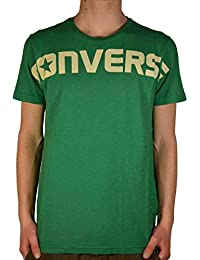 Converse SS Crew Logo Heritage Homme T-Shirt Vert
