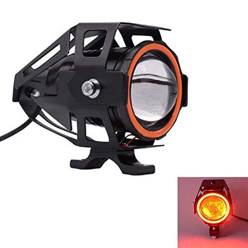 ghfcffdghrdshdfh Motorcycle Headlight 3000LM moto spotlight U7 LED Driving Fog Spot Head Light -