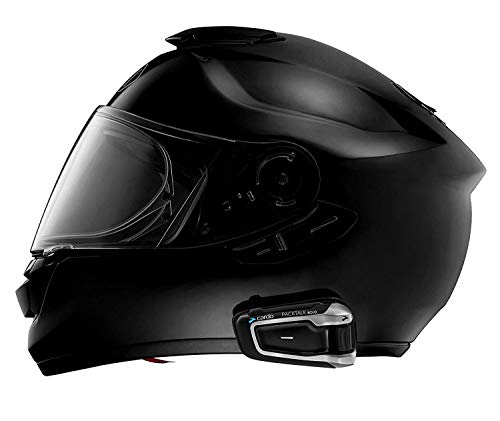 Cardo PTB00001 PACKTALK Bold Motorrad-Kommunikations- und Unterhaltungssystem mit natürlicher Sprachbedienung, Sound von JBL, Connect 2 bis 15 Fahrer (Einzelpackung), Schwarz - 4