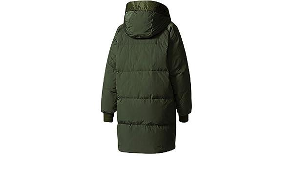 adidas Femme Manteaux   Vestes Manteau Hiver Long Bomber Vert 42   Amazon.fr  Vêtements et accessoires cb3f6167338