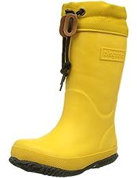 Bisgaard Unisex-Kinder Rubber Boot Star Gummistiefel, Gelb (80 Yellow), 38 EU