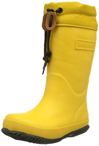 "Bisgaard ""WINTER"" Unisex-Kinder Halbschaft Gummistiefel Gelb (80 Yellow)"