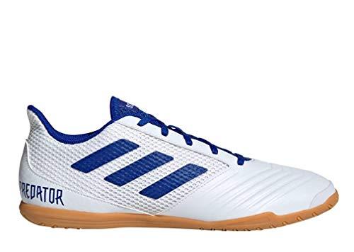 adidas Herren Predator 19.4 In Sala Futsalschuhe, Mehrfarbig (Ftwbla/Azufue/Ftwbla 000), 40 EU