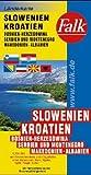 Falk Pläne, Slowenien, Kroatien, Bosnien-Herzegowina, Jugoslawien, Makedonien (Nr.1447) -