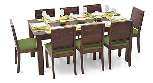 Urban Ladder Arabia XL - Oribi Eight Seater Dining Table Set (Teak)