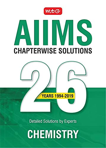 26 years AIIMS Chapterwise  Solutions - Chemistry