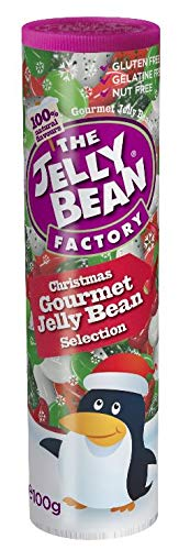 The Jelly Bean Factory - Christmas Gourmet Jelly Bean Selection - Small Tube - 100g