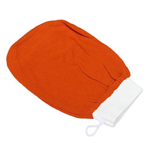 yiwa Bad Scrub Handschuh monolage Rayon für Bad Sauna Peeling Werkzeug (Rayon Kordelzug)