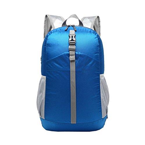 LAIDAYE Pliable Léger épaules Sac Portable De Randonnée Imperméable à L'eau Affaires Les Loisirs Polyvalent Sac à Dos Voyage