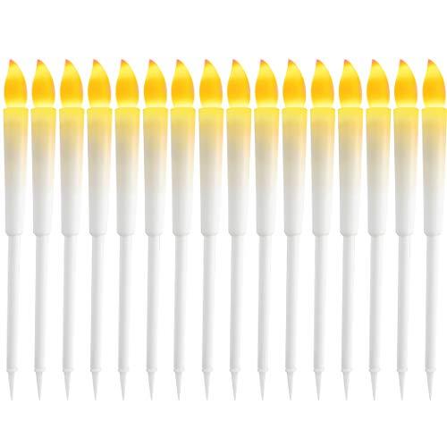 JUSTDOLIFE LED Kerze Simuliert Helles Flammenloses Kerzenlicht für Party Dekoration