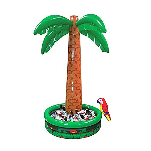 New Hot Verkauf 1,8m Jumbo Big aufblasbarer Kühler Coconut Palm Tree Drink Ice Bucket Geburtstag Event Party Dekoration Supplies