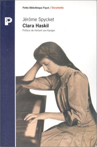 Clara Haskil par Jérôme Spycket