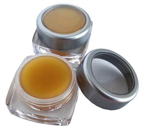 Topische Wundversorgung (Jenny Joys Seife Pinon Pine Resin Antibakterielle Zeichnung Salbe (Set aus 2-5 ml) Bartbalsam, trockene Haut, Psoriasis & Ekzem)