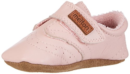 Melton Krabbelschuh classic Rosé, Baby Mädchen Krabbelschuhe, Pink (Wild Rose 509), Gr. 24-36 Monate