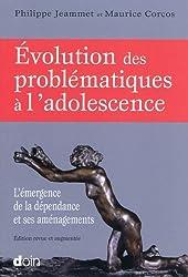 Evolution des problématiques à l'adolescence : L'émergence de la dépendance et ses aménagements