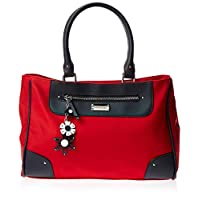 U.S. Polo Assn. Satchel Bag for Women- Red