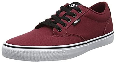 Vans Men MN Winston Low-Top Sneakers, Red ((Canvas) Oxblood/Black), 10