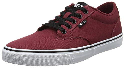 vans-herren-mn-winston-sneakers-rot-canvas-oxblood-black-40-eu