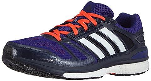 adidas Performance Supernova Sequence Boost, Herren Laufschuhe, Violett (Amazon Purple F14/Ftwr White/Collegiate Navy), 42 EU (8 Herren