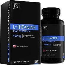 L-Teanina - 400 mg per Capsula | Elevata Potenza | 120 Capsule Vegetariane (4 Mesi di Fornitura) - Prodotta in UK in Strutture Autorizzate ISO - Soddisfatto o Rimborsato (1 Flacone)