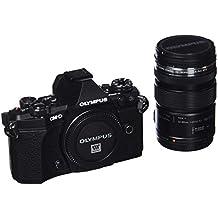 "Olympus OM-D E-M5 Mark II - Cámara Evil de 16.1 MP con Objetivo M. Zuiko EZ 12-50 mm f3.5 (Pantalla táctil 3"", estabilizador óptico, grabación de vídeo Full HD), Color Negro"