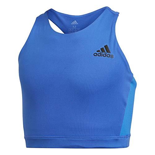 ADIDAS Mädchen Training Brand Sport BH Mit Leichter Unterstützung, Hi-Res Blue/Clear Mint, 140