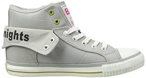 British Knights  Roco, Sneakers Basses femme Multicolore (LT Grey-Green-Fuchsia 03)