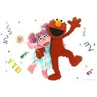 Sesame Street Elmo ~ Edible Image Cake / Cupcake Topper by A Birthday Place - Sesame Street Topper