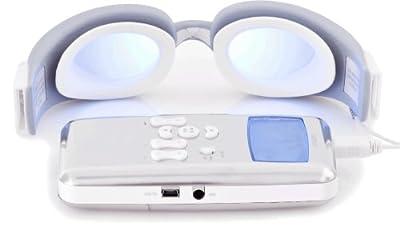 Neurotronics-laxman wellness-système bien-être avec lecteur mP3–lunettes grand champ-lecteur miniSD/uSB 2.0–chrome/blanc par Neutronics