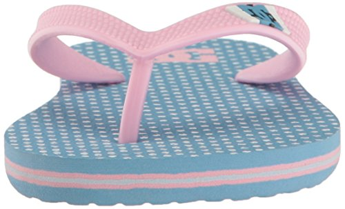 DC Spray Graffik Sandal (Little Kid/Big Kid) Blue/Pink