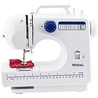 Winkel SW45 - Máquina de coser, color blanco y azul