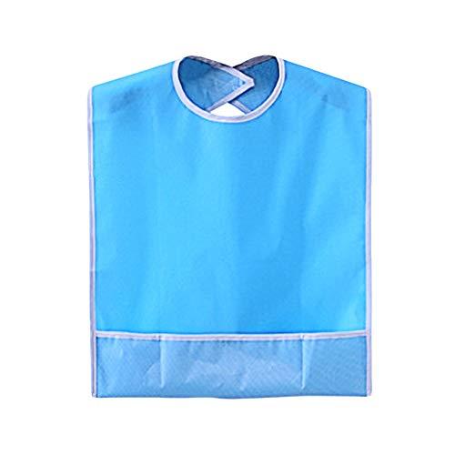 Baberos adultos Protección impermeable ropa Babero