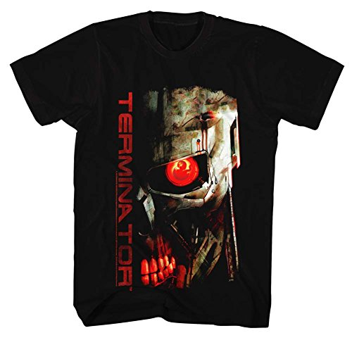 Terminator - - T-Shirt Red Eye pour hommes nero Medium