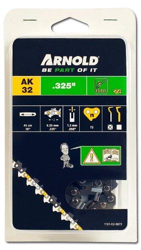 Arnold 1191-X2-5072 Sägekette .325 Zoll, 1.3 mm, 72 Treibglieder, 45 cm Schwert