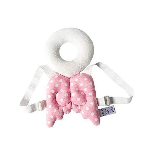Fliyeong Baby Kissen Kissen und Kopfstütze Baby Autositz Mat Infant Sitzpolster für Baby Flat Head Syndrome (pink) - Flat Baby-kissen Head